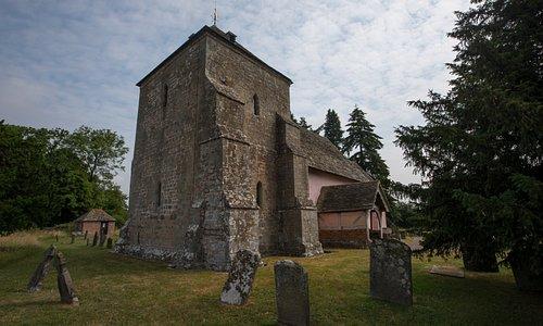 Kempley St Mary's western aspect