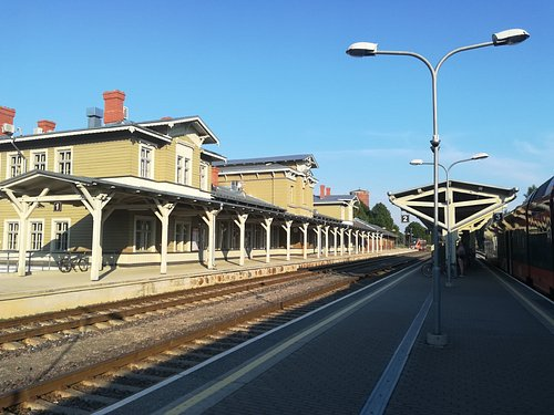 Beautiful Tartu railway station