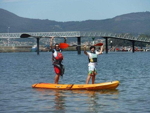 Kayak a San Simón