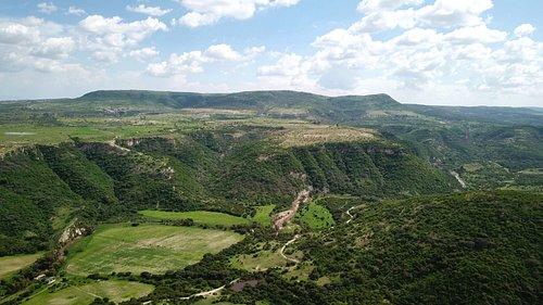 Cañada de la Virgen; canyon of the Virgen River