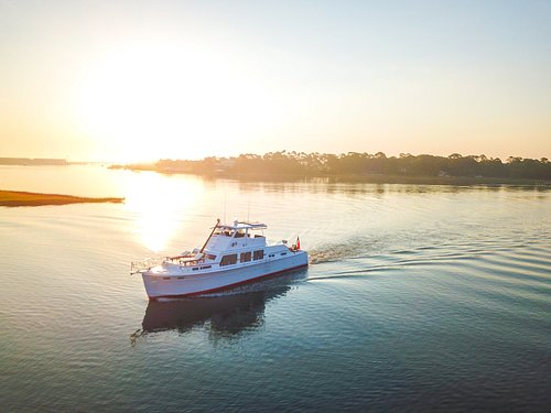 sunrise on Folly river
