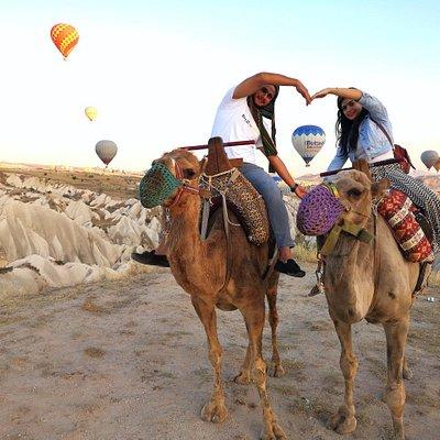 #kapadokya #savransafari #deve #günbatımı #kızılvadi #aktivite #camel #turkey #ortahisar #balloo