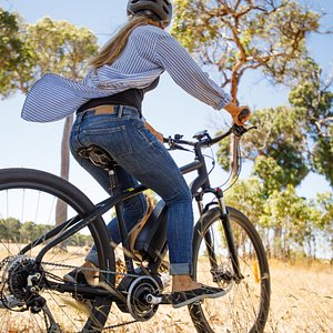 E Bikes Now available for riding our Sip n Cycle winery tour