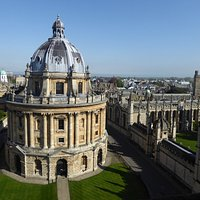 Radcliffe Square from St Marys tower