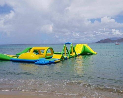 Ocean's Beach Bar Lounge and Aqua Park, St. Kitts