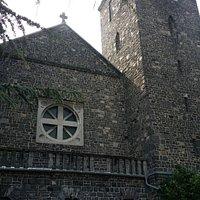 Hungary's first basalt church
