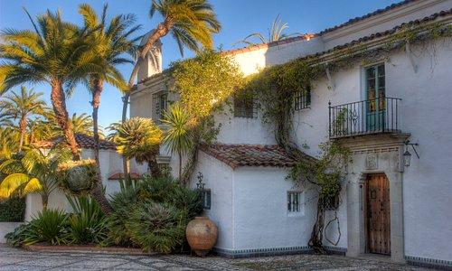 Casa del Herrero- Courtyard