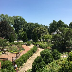 The Bishop's Garden - a peaceful oasis by the Cathedral