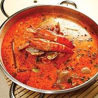 Tom Yum Seafood Soup Base