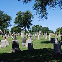 Il cimitero di Mount Olivet