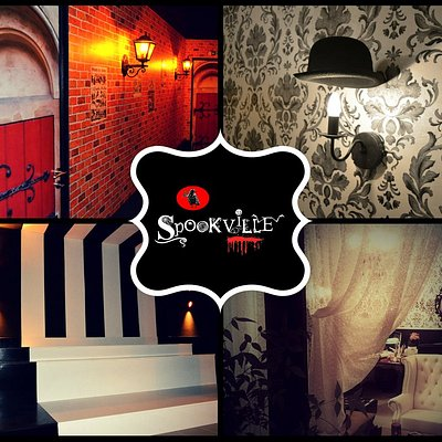 Challenge you to visit Spookville