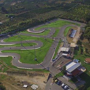 1100m race track