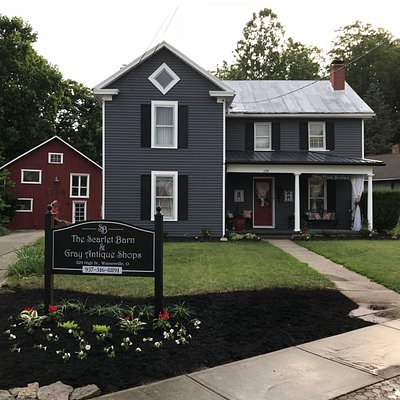 The Scarlet Barn & Gray Antique Shops