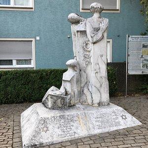 Denkmal fur die ermordeten Judichen Mitburger