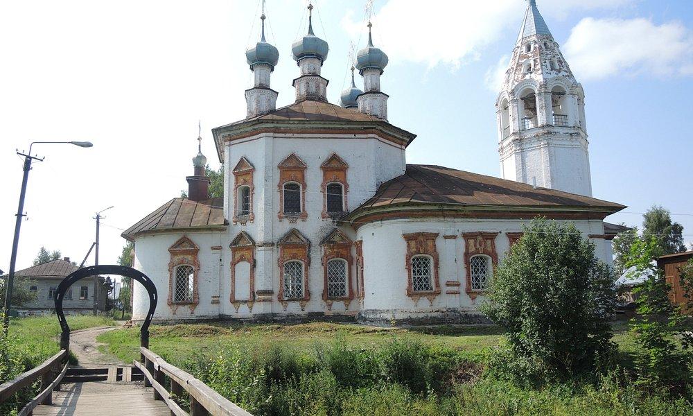 Церковь Богородицы в Устюжне.