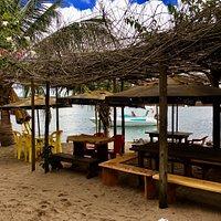 O melhor restaurante da Ilha de Boipeba