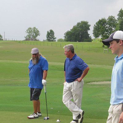 Head Pro with country music star and owner Jamey Johnson enjoying a great day at Cottonwood!