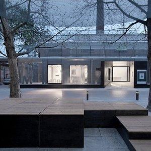 M WOODS Museum building
