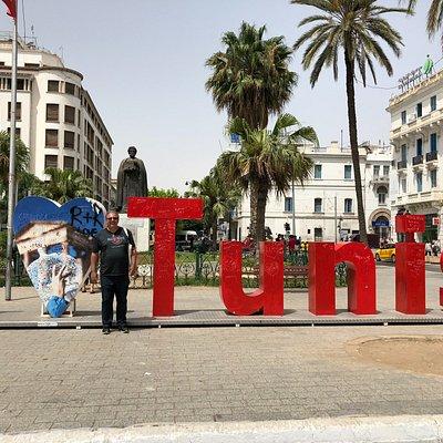 """Eu no """"I Love Tunis"""""""