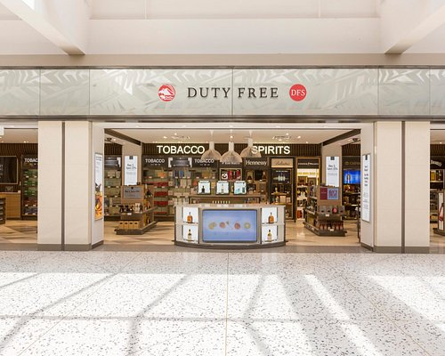 International bound passengers can enjoy  shopping for Duty Free  spirits, wine and tobacco