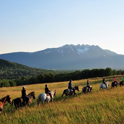 Ride above the beautiful Bulkley Valley
