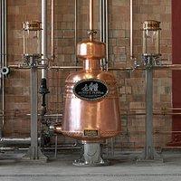 Our copper pot still doubler