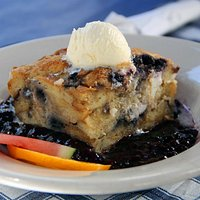 blueberry breakfast pudding