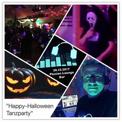 Auch zu Halloween haben wir abgefeiert ...