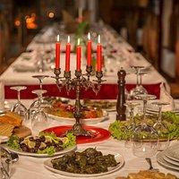 Castle Park restaurant.Free transportation from Hanging bridge, Church St.Thomas +355672006623