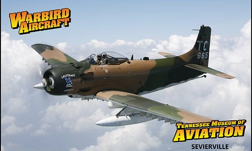 "Douglas A-1H Skyraider ""Lieutenant America"" serviced in Vietnam"