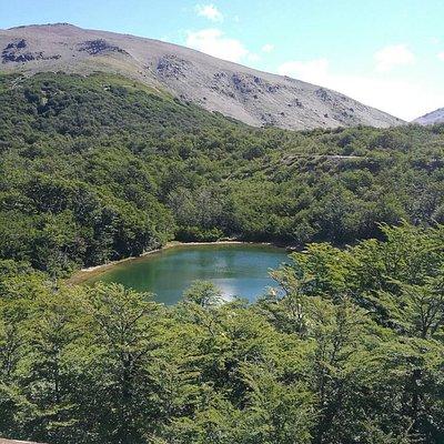 Laguna verde, Cerro Chalhuaco