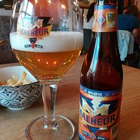 "the Belgian blond ale ""MALHEUR"" 10°, won Gold in World Beer Award"