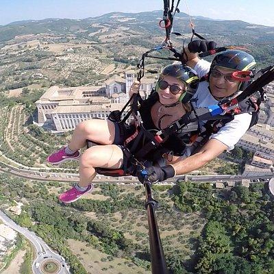 Volo in alta Quota sopra ad Assisi Fantastico..!!!!
