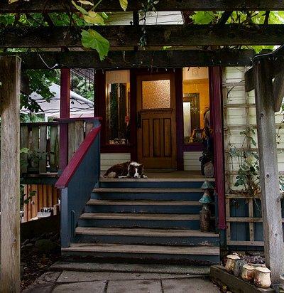 front door - Deerholme Farm