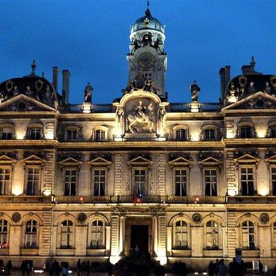 Hôtel de Ville - Place des Terreaux façade