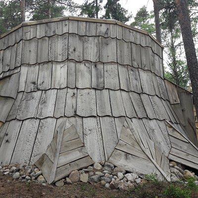 Peikkovuoren  päämaja  on isossa kannossa.
