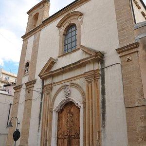 Facciata d'ingresso lato via Garibaldi