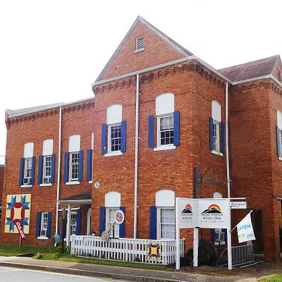 The former Washington County Jail, built in 1903, is home for our craft shop.