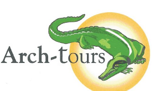ARCH-TOURS  African Real Cultural and Historical Tours. That our compagnie logo.