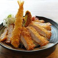 TANAKATSU ANGEL JAPANESE TONKATSU RESTAURANT. This is Our pork katsu set.