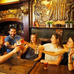 Join us for lots of laughs at some of London's most amazing historic pubs
