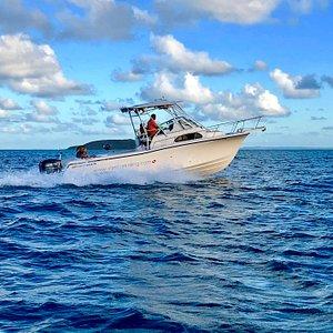 Our new Sernity. A super sea worthy 28' Grady White!