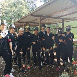 Vi havde Herning Ikast Håndbold piger ude på banen til Teambuilding Arrangement