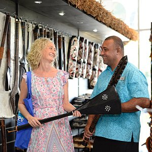 Take home an authentic Fijian souvenir made by local artisans