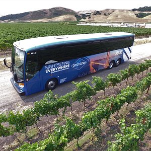 Sightsee Northern California in our luxury motorcoach.