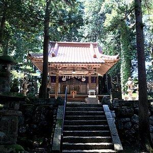 めぬま神社本殿 誰も来ない 誰も来た形跡なし?