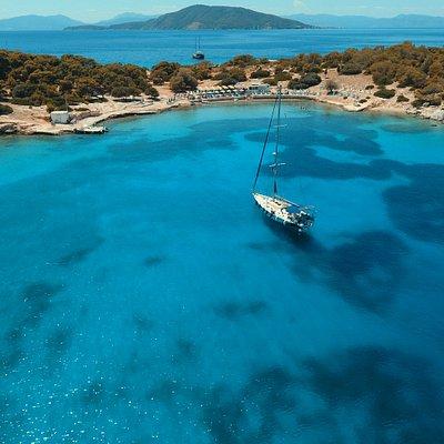 Moni islet - Saronic gulf
