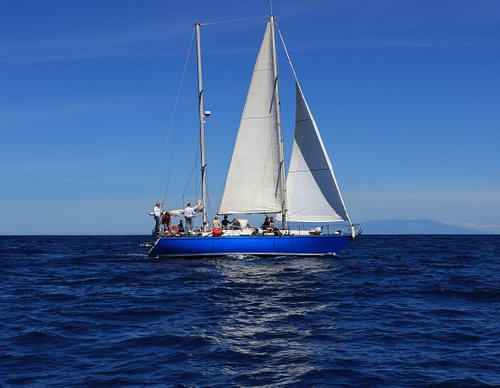 our sailboat HECATE