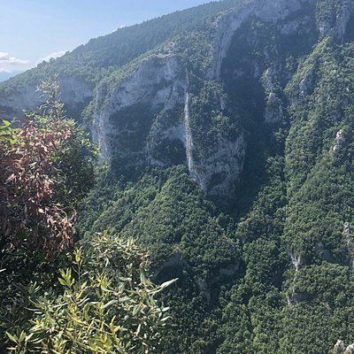 Amazing views on the way up to the Zilnia viewpoint