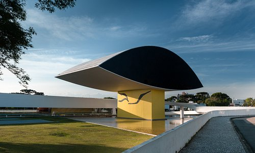Museu Oscar Niemeyer. Foto: Marcello Kawase